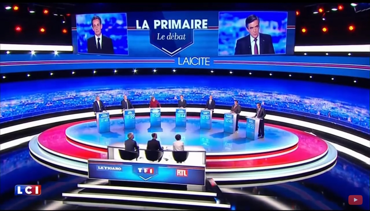 LA PRIMAIRE REPUBLICAINE 2016  TF1