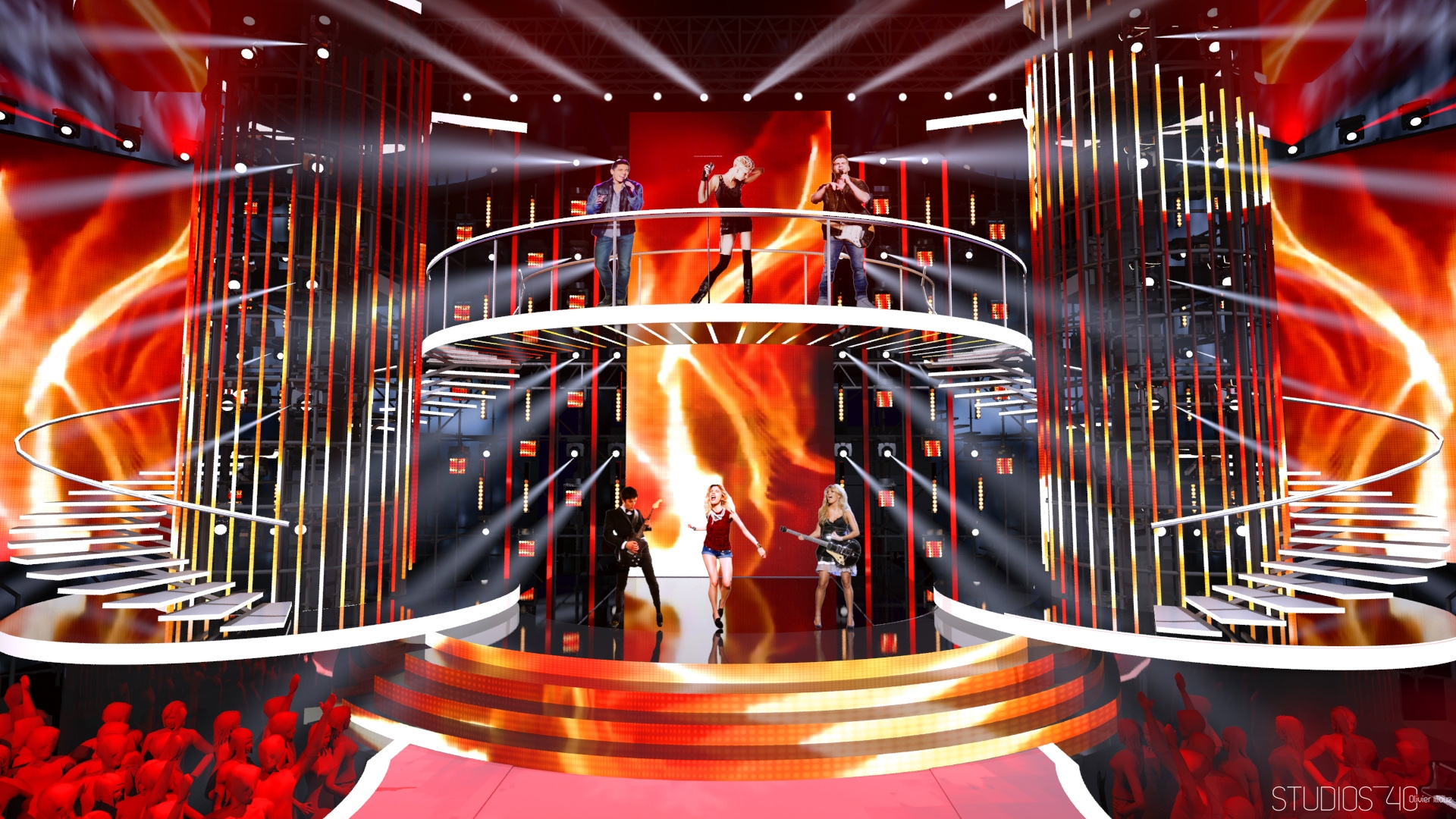 NOUVELLE STAR 2015 D8 Fremantlemedia